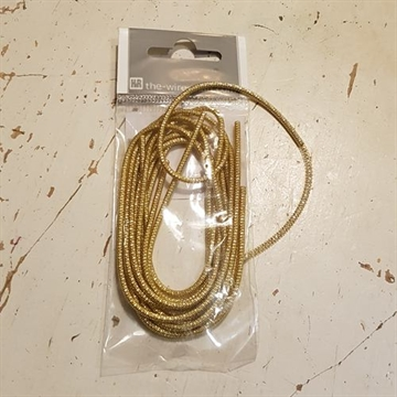 Bouillon Wire Swag 2mm 2 meter Guld