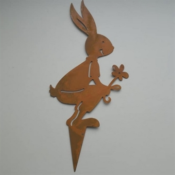 Metal Hare 1 rust